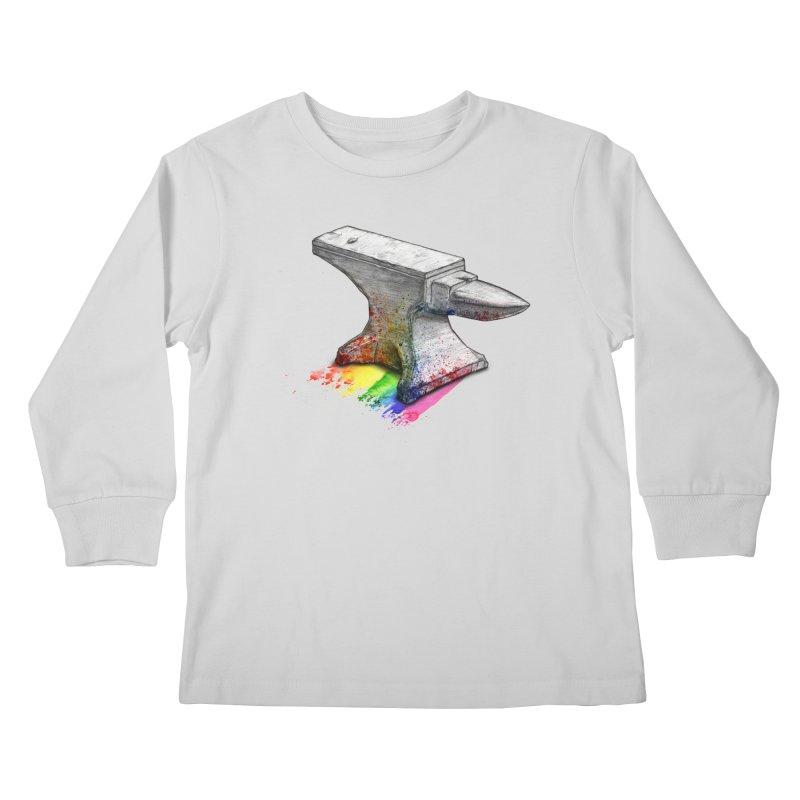 Comedic Depression Kids Longsleeve T-Shirt by Luke Wisner