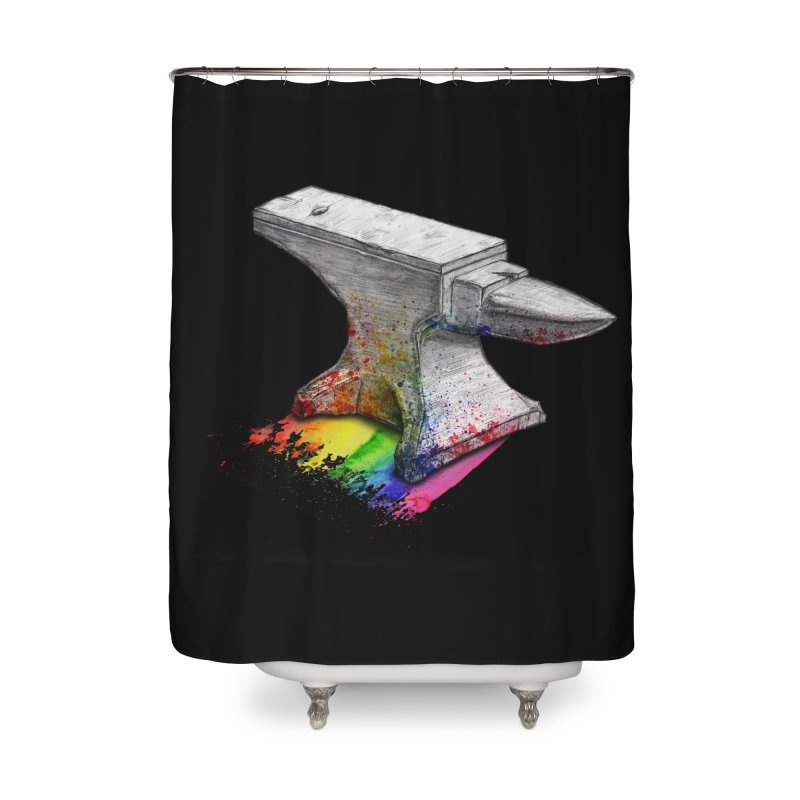 Comedic Depression Home Shower Curtain by Luke Wisner
