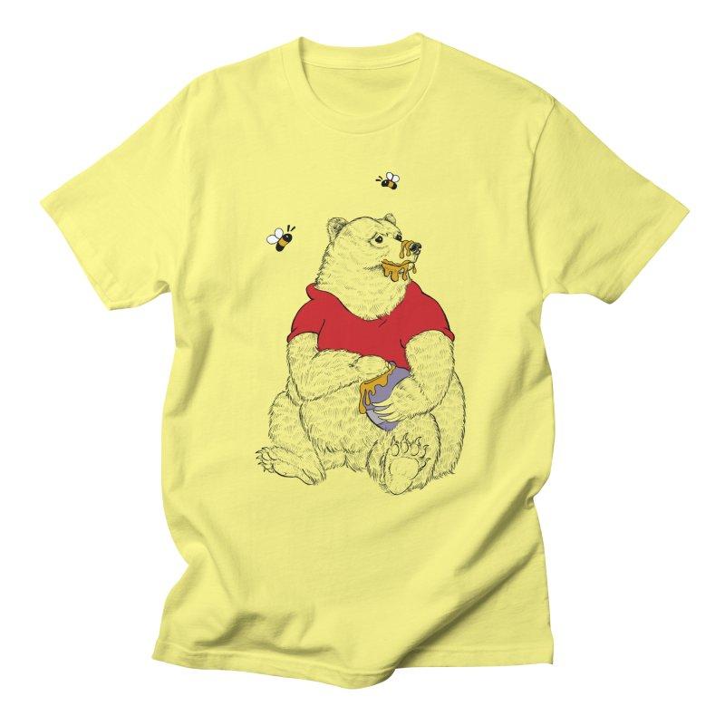 Silly ol' Bear Men's T-Shirt by Luke Wisner