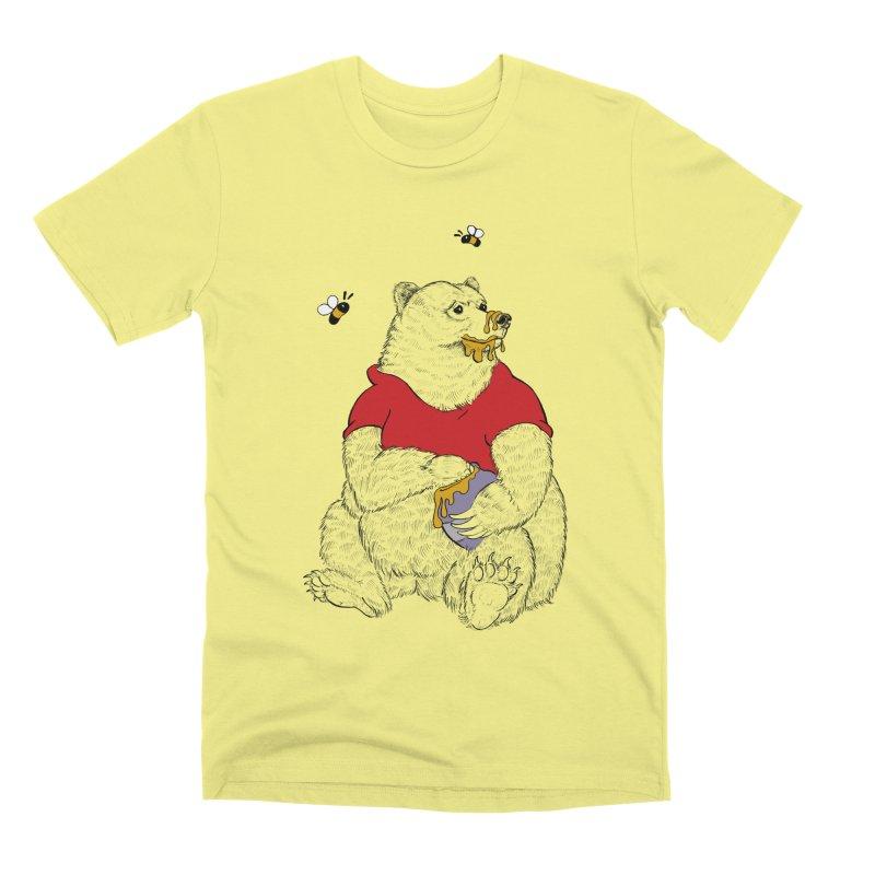 Silly ol' Bear Men's Premium T-Shirt by Luke Wisner
