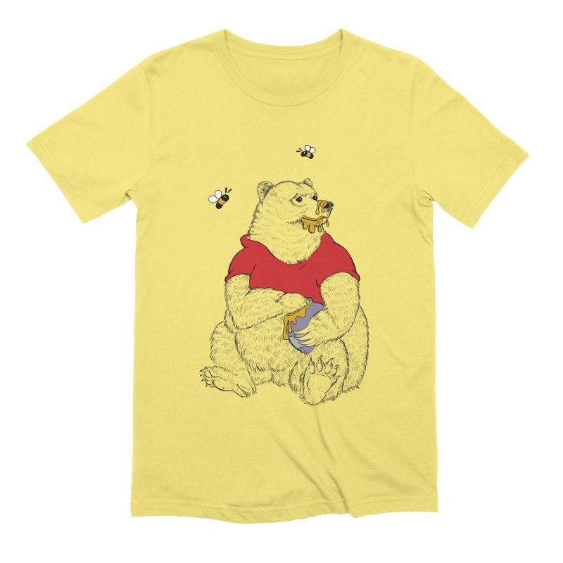 Silly ol' Bear Men's Extra Soft T-Shirt by Luke Wisner