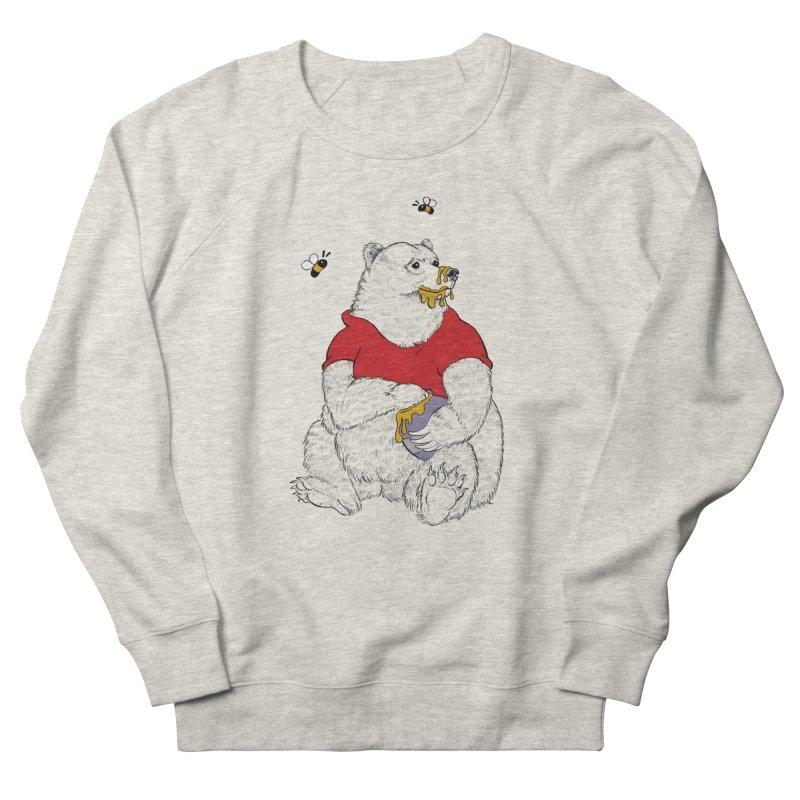 Silly ol' Bear Men's Sweatshirt by Luke Wisner
