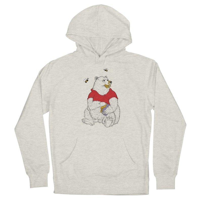Silly ol' Bear Women's Pullover Hoody by Luke Wisner