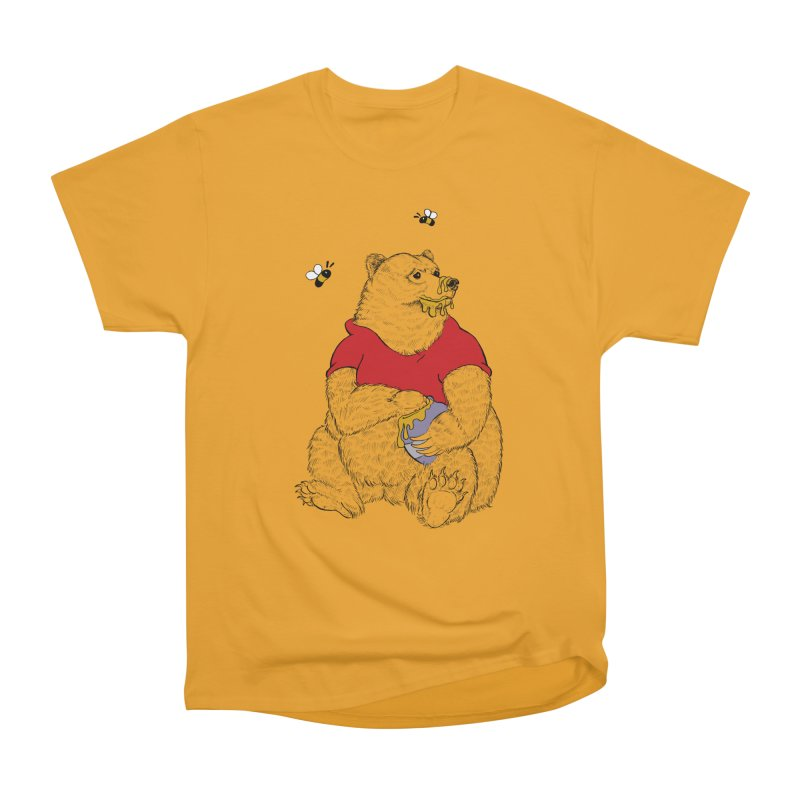 Silly ol' Bear Men's Heavyweight T-Shirt by Luke Wisner