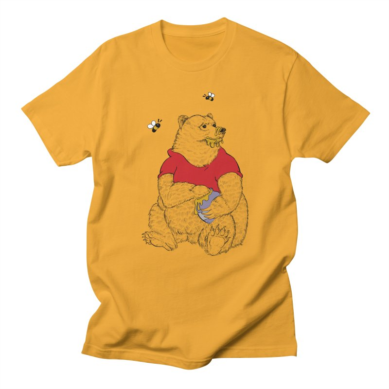 Silly ol' Bear Women's Regular Unisex T-Shirt by Luke Wisner