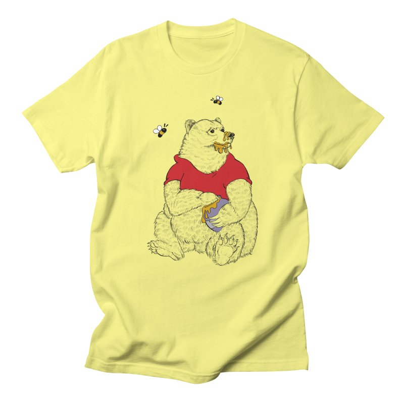 Silly ol' Bear Men's T-Shirt by Luke Wisner