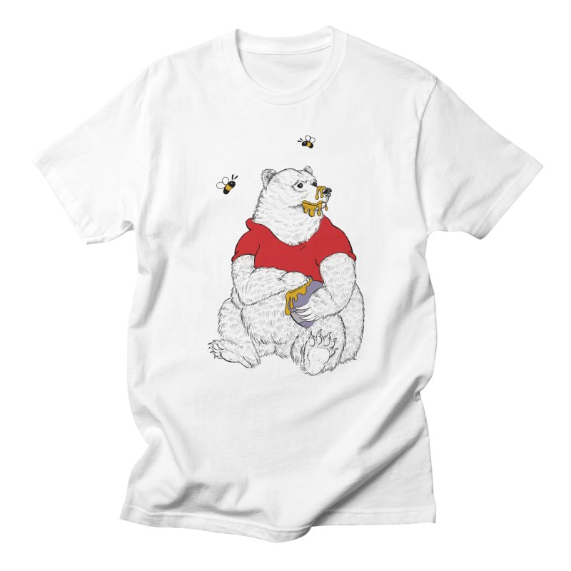 Silly ol' Bear Men's Regular T-Shirt by Luke Wisner