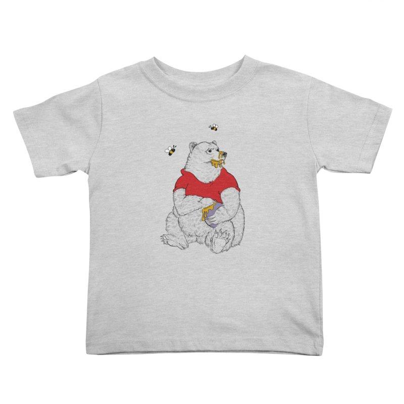 Silly ol' Bear Kids Toddler T-Shirt by Luke Wisner