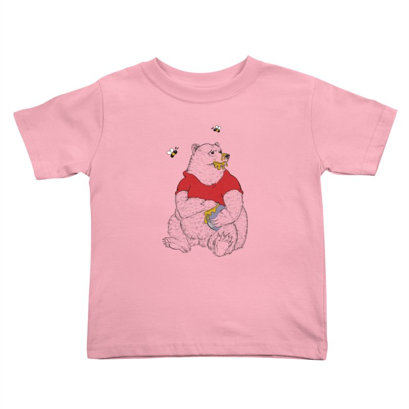 Silly ol' Bear Kids Toddler T-Shirt by Luke Wisner