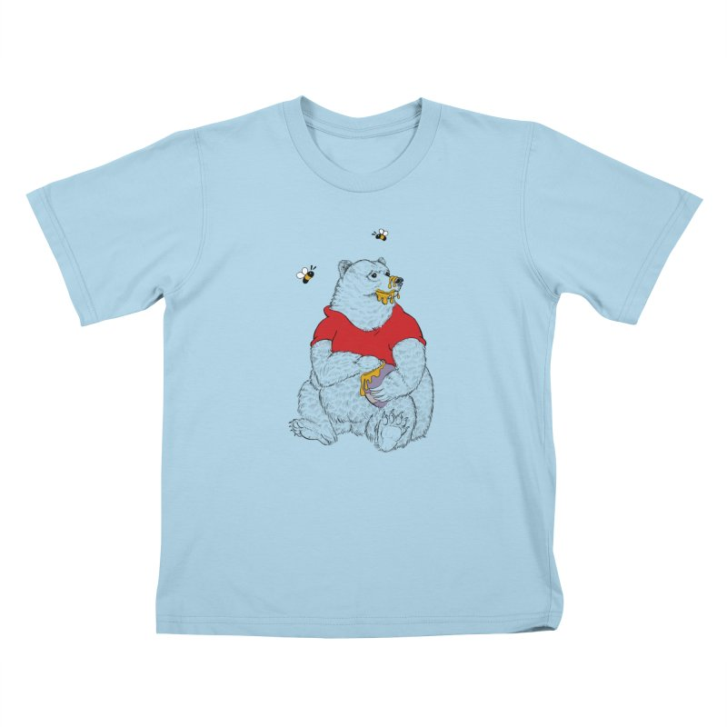Silly ol' Bear Kids T-Shirt by Luke Wisner