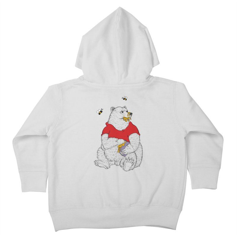 Silly ol' Bear Kids Toddler Zip-Up Hoody by Luke Wisner