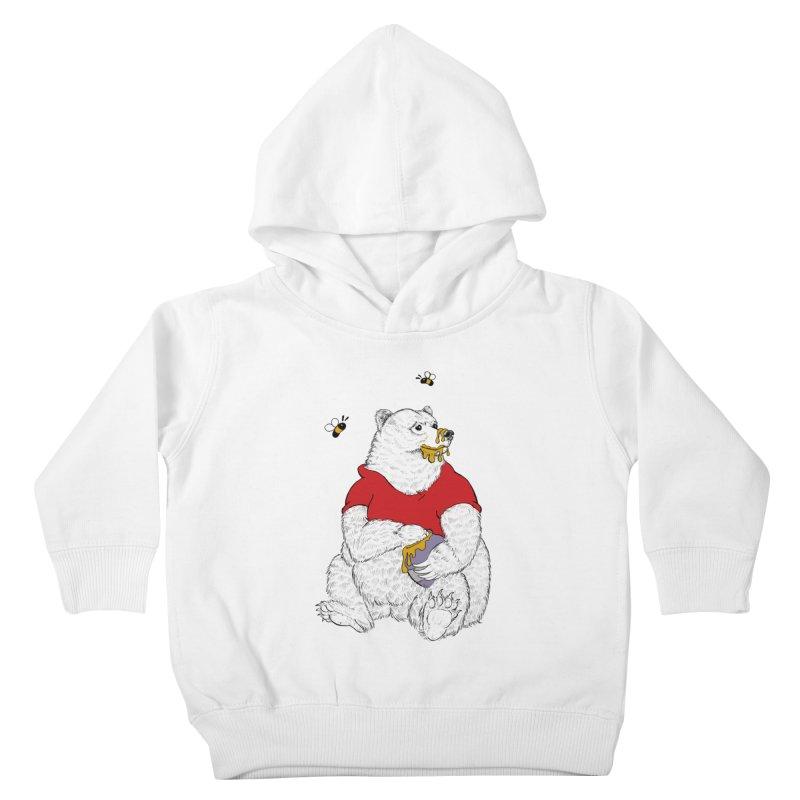 Silly ol' Bear Kids Toddler Pullover Hoody by Luke Wisner