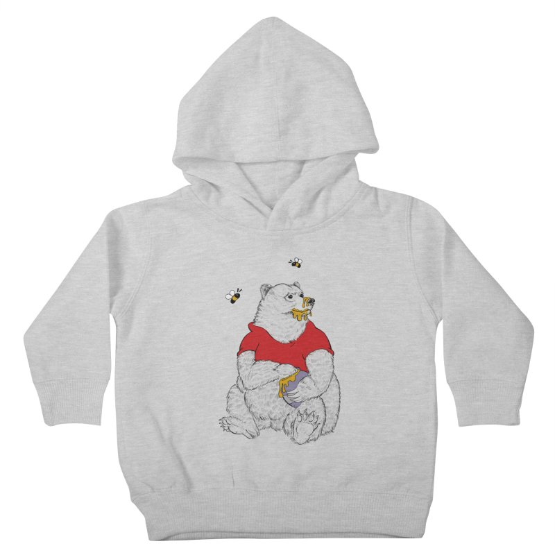 Silly ol' Bear Kids Toddler Pullover Hoody by Luke Wisner