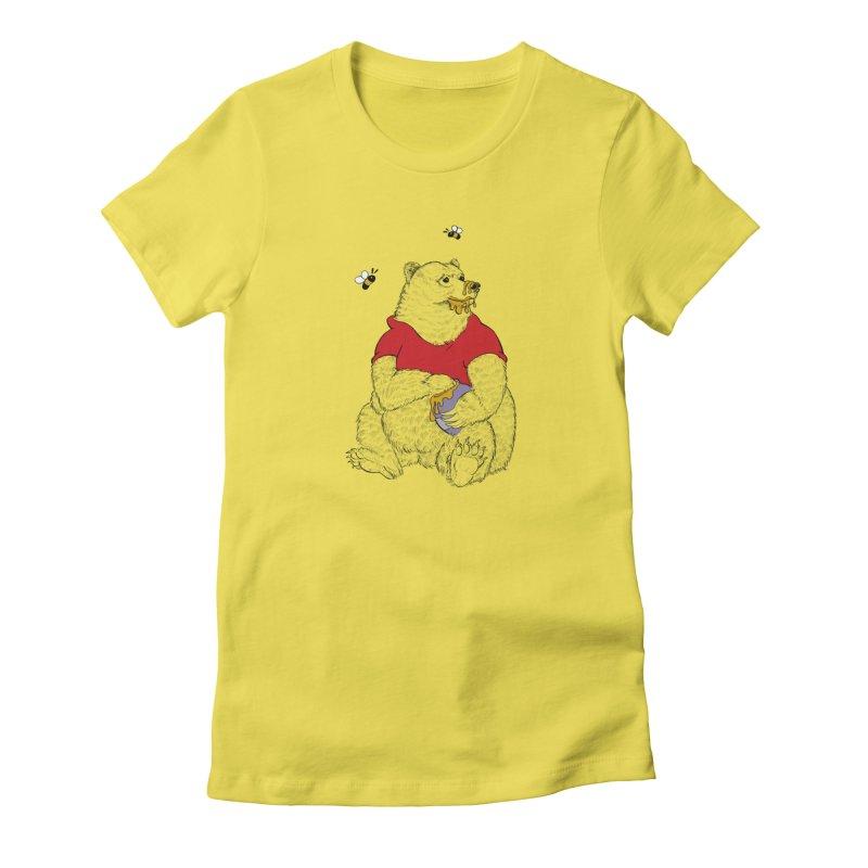 Silly ol' Bear Women's T-Shirt by Luke Wisner