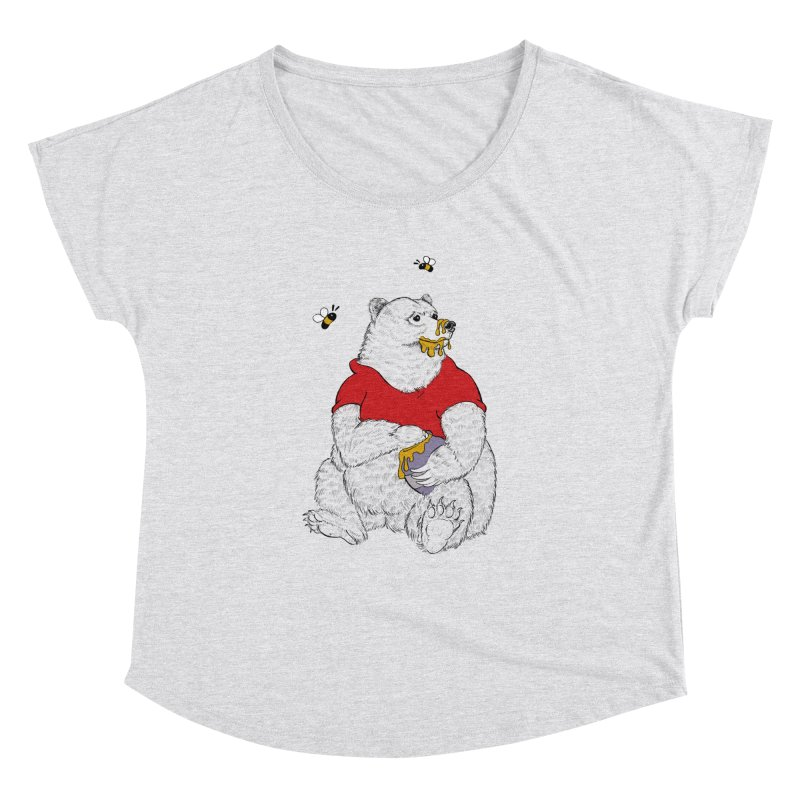 Silly ol' Bear Women's Dolman by Luke Wisner