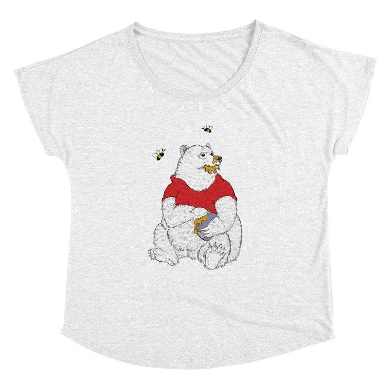 Silly ol' Bear Women's Dolman by Luke Wisner