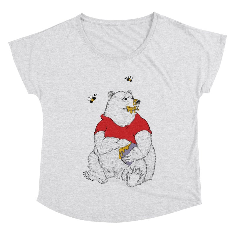 Silly ol' Bear Women's Scoop Neck by Luke Wisner