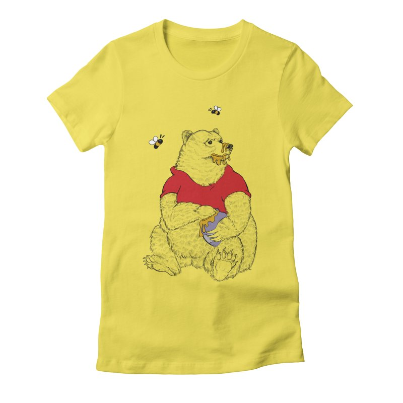 Silly ol' Bear Women's T-Shirt by Luke Wisner