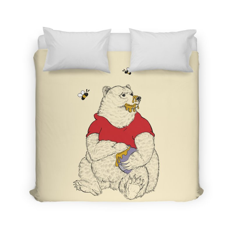Silly ol' Bear Home Duvet by Luke Wisner