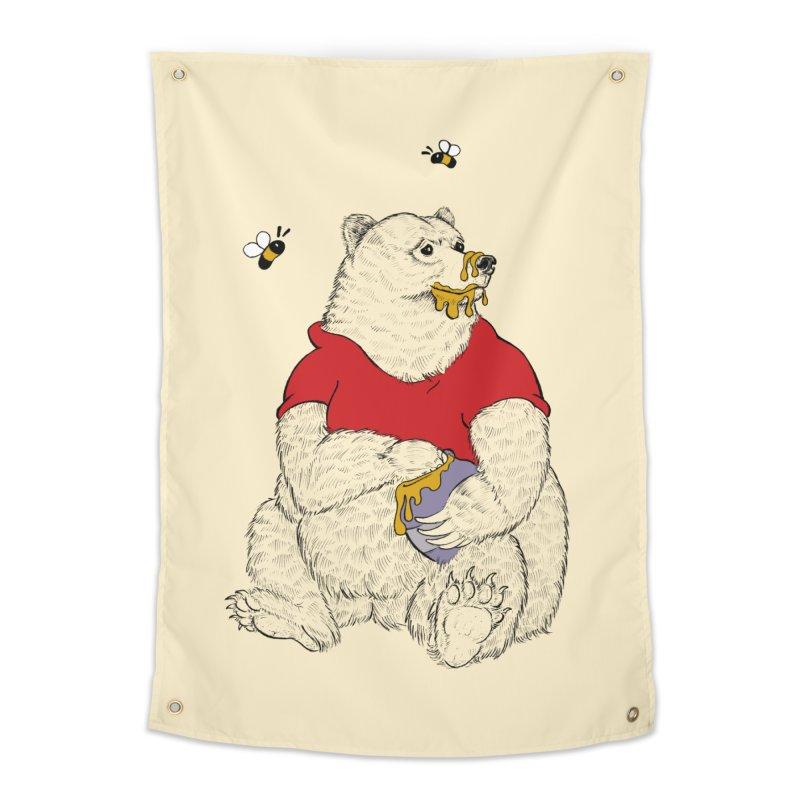 Silly ol' Bear Home Tapestry by Luke Wisner