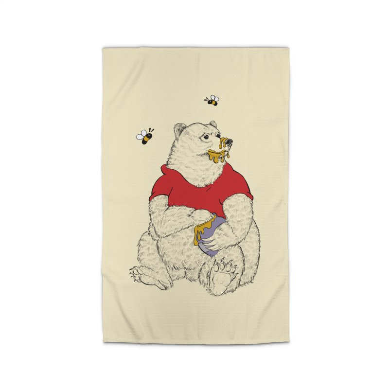 Silly ol' Bear Home Rug by Luke Wisner