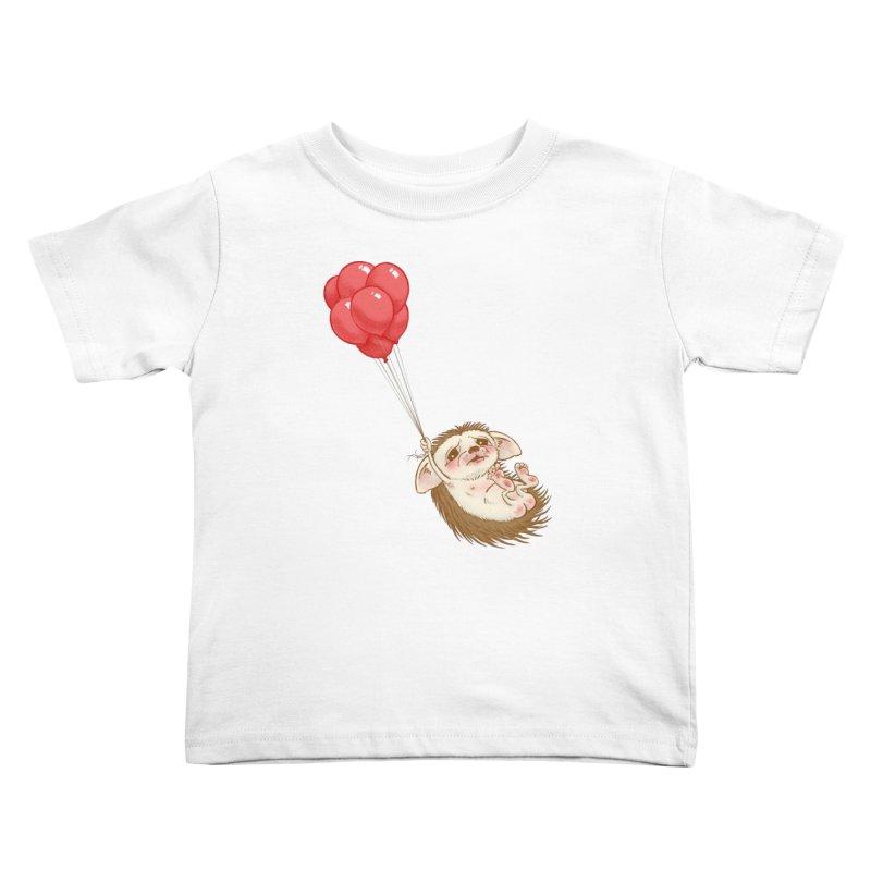 Fallaphobia Kids Toddler T-Shirt by Luke Wisner