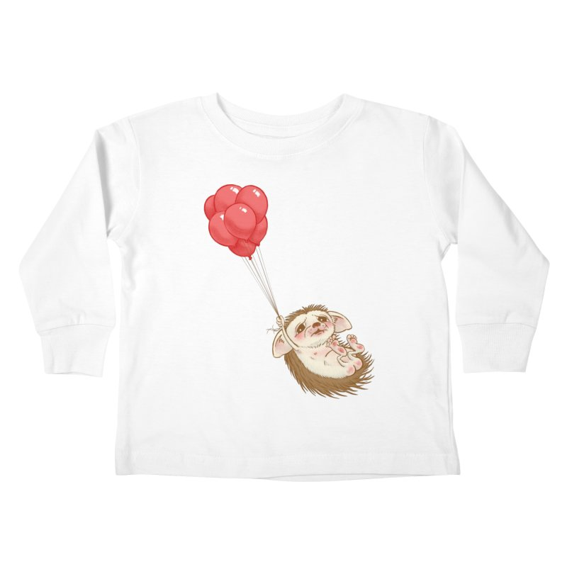 Fallaphobia Kids Toddler Longsleeve T-Shirt by Luke Wisner