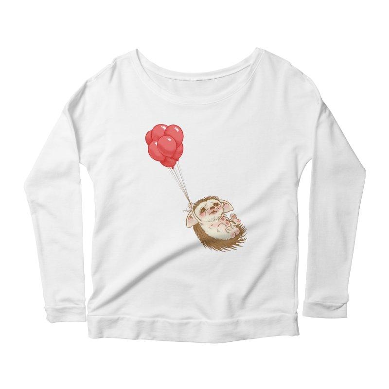 Fallaphobia Women's Scoop Neck Longsleeve T-Shirt by Luke Wisner