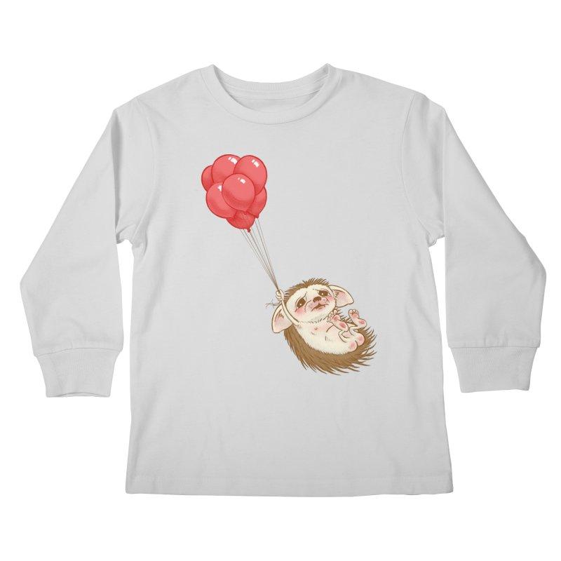 Fallaphobia Kids Longsleeve T-Shirt by Luke Wisner