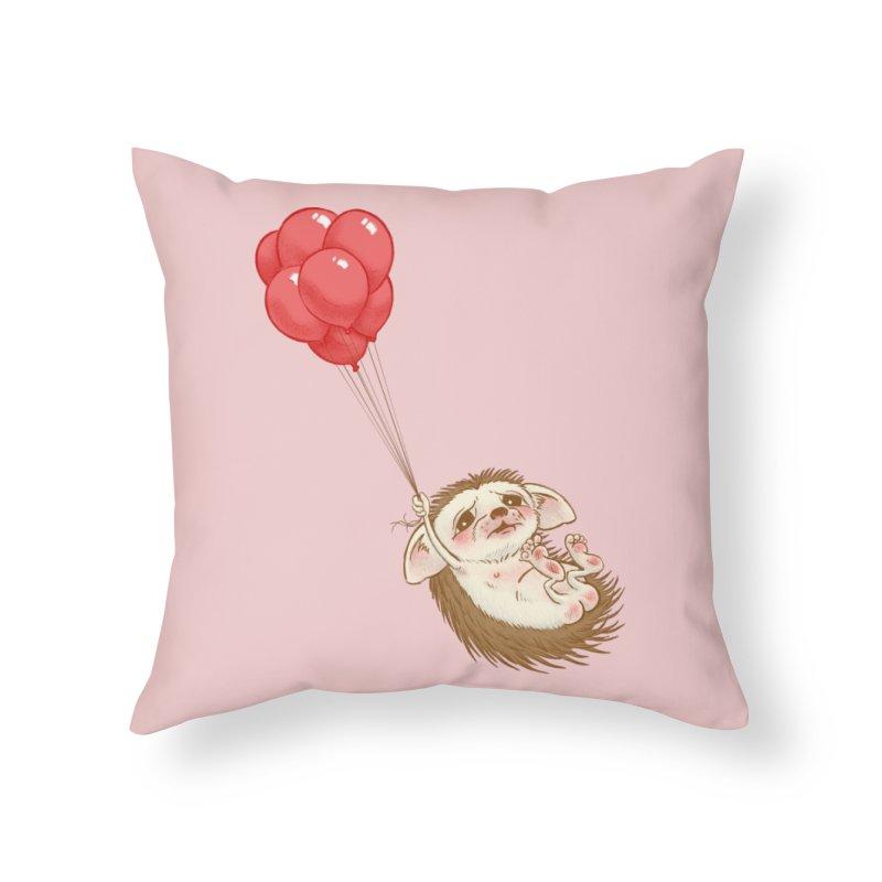 Fallaphobia Home Throw Pillow by Luke Wisner