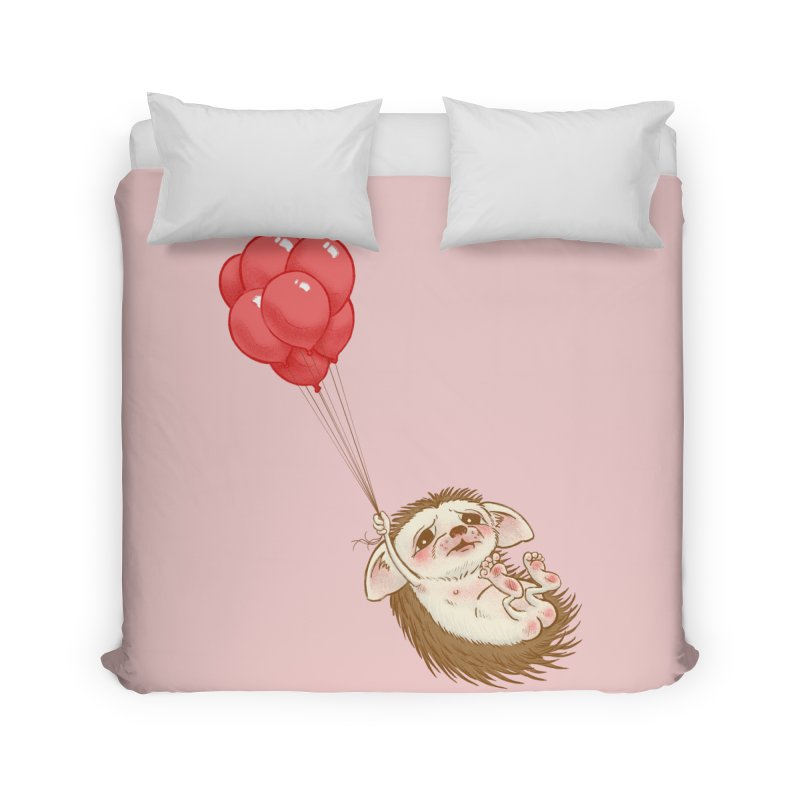 Fallaphobia Home Duvet by Luke Wisner