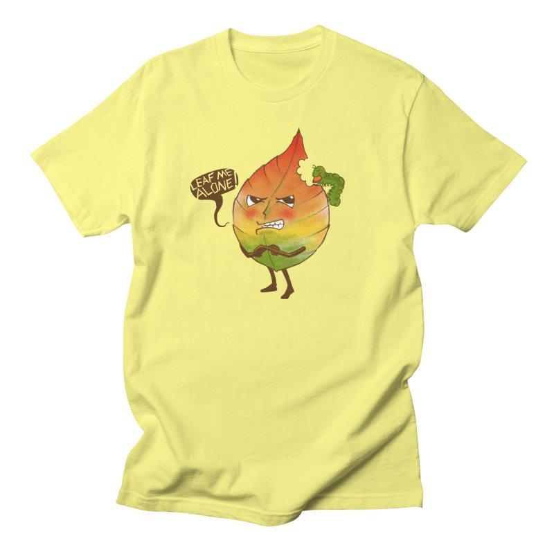 Leaf me alone! Men's T-Shirt by Luke Wisner