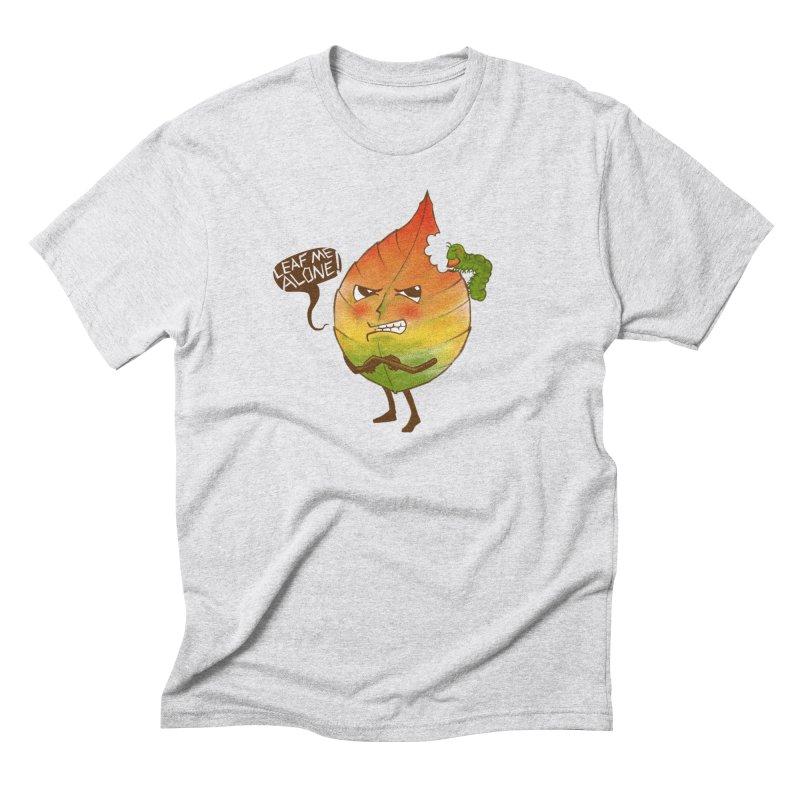 Leaf me alone! Men's Triblend T-Shirt by Luke Wisner