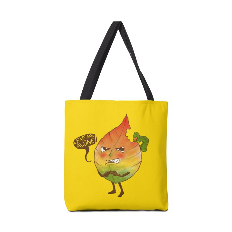 Leaf me alone! Accessories Bag by Luke Wisner