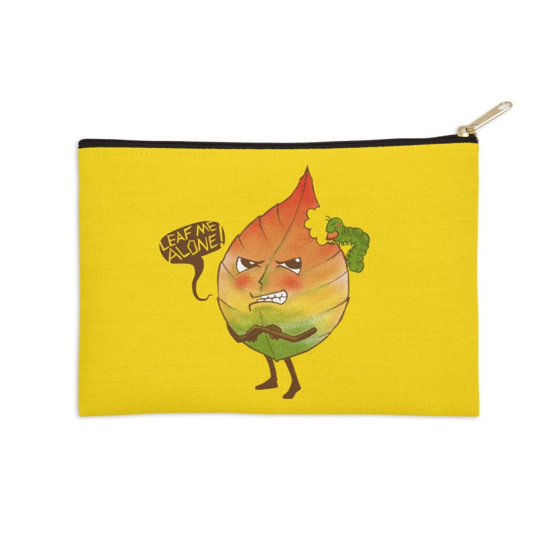 Leaf me alone! Accessories Zip Pouch by Luke Wisner
