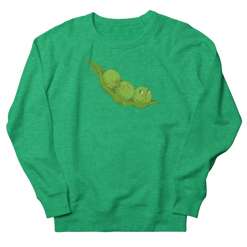 Peas & Quiet Women's Sweatshirt by Luke Wisner
