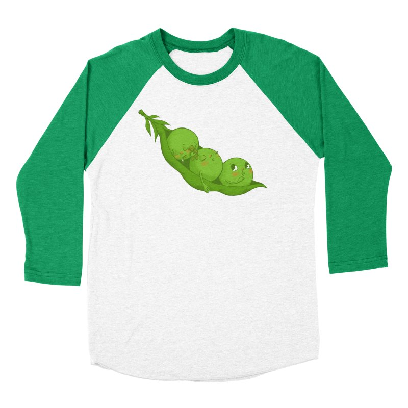 Peas & Quiet Men's Longsleeve T-Shirt by Luke Wisner