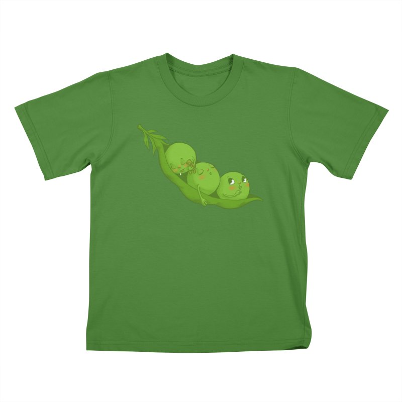 Peas & Quiet Kids T-shirt by Luke Wisner