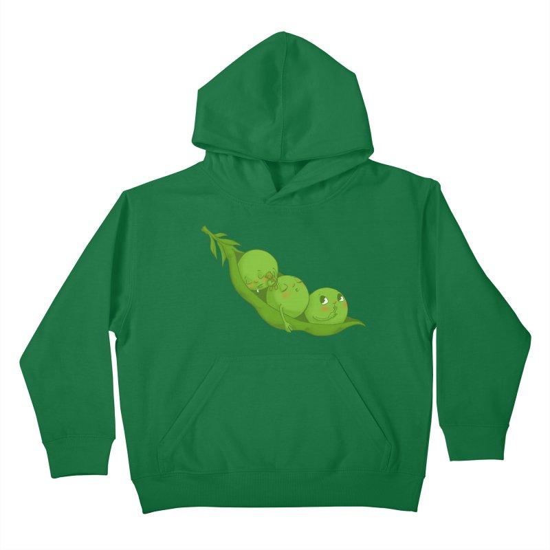 Peas & Quiet Kids Toddler T-Shirt by Luke Wisner