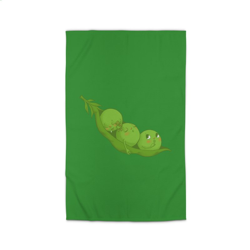 Peas & Quiet Home Rug by Luke Wisner