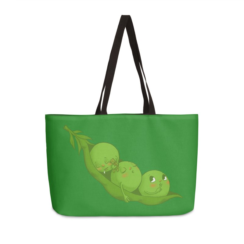 Peas & Quiet Accessories Weekender Bag Bag by Luke Wisner