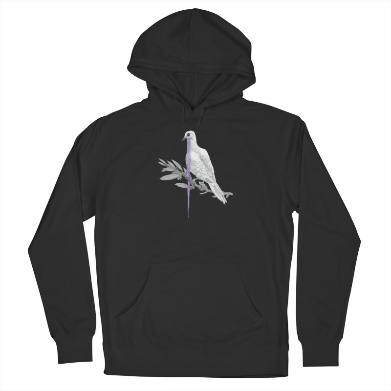 When Dove's Cry Women's French Terry Pullover Hoody by Luke Wisner