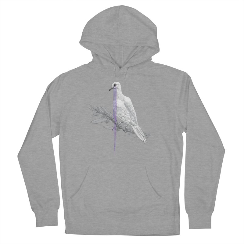 When Dove's Cry Men's Pullover Hoody by Luke Wisner