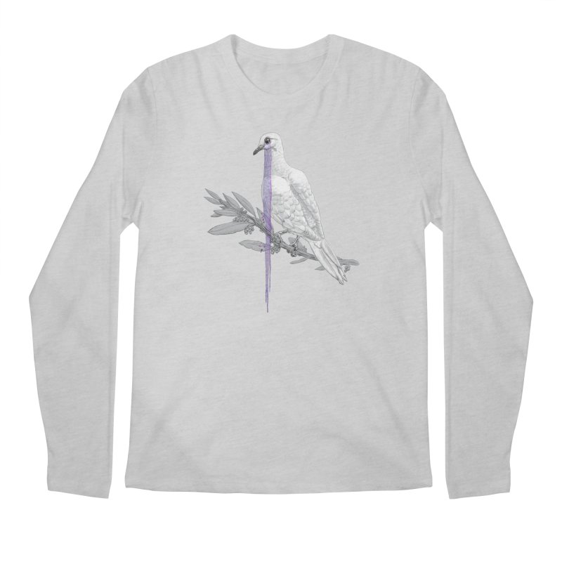 When Dove's Cry Men's Longsleeve T-Shirt by Luke Wisner