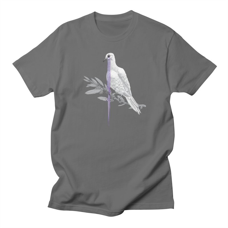 When Dove's Cry Men's Regular T-Shirt by Luke Wisner
