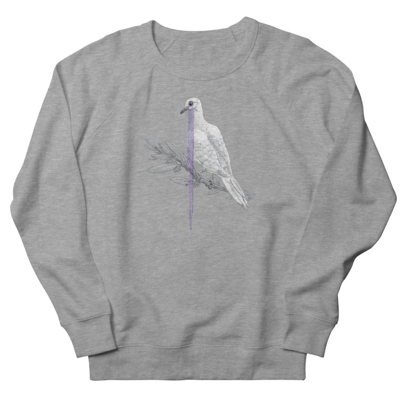 When Dove's Cry Women's French Terry Sweatshirt by Luke Wisner