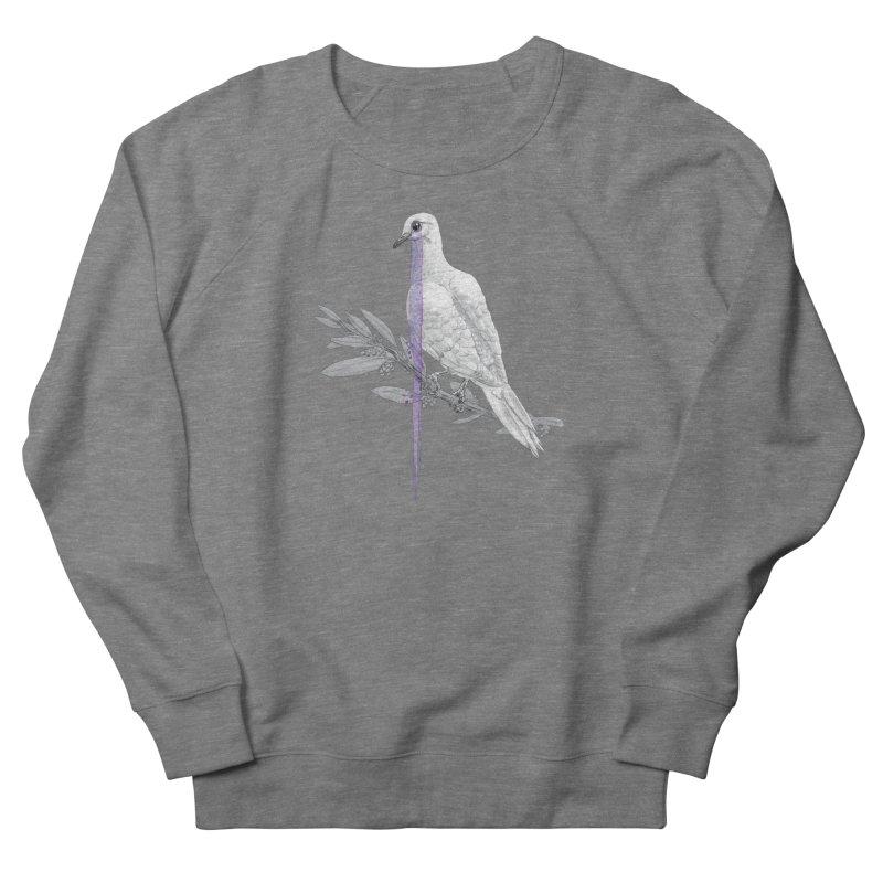 When Dove's Cry Men's French Terry Sweatshirt by Luke Wisner