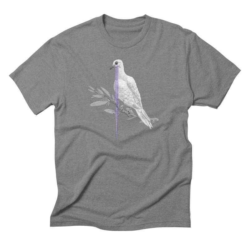 When Dove's Cry Men's Triblend T-Shirt by Luke Wisner