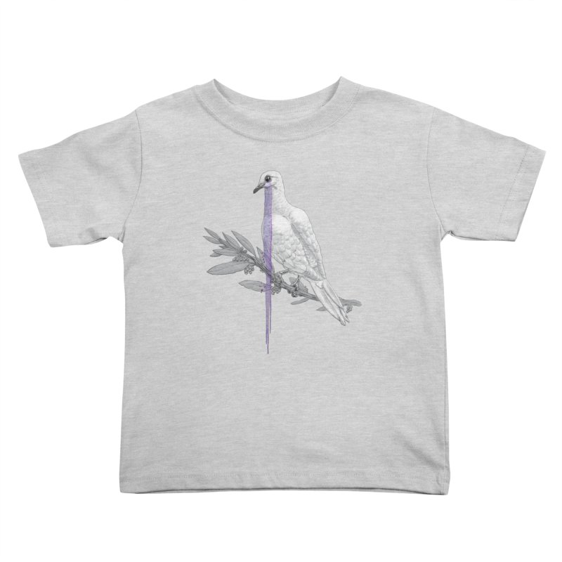 When Dove's Cry Kids Toddler T-Shirt by Luke Wisner