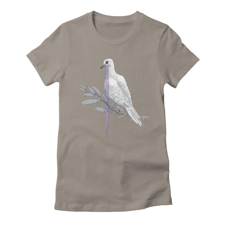 When Dove's Cry Women's T-Shirt by Luke Wisner
